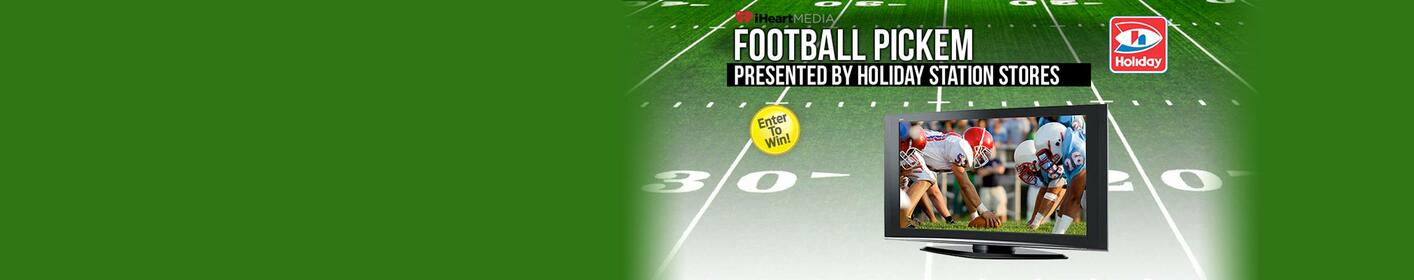 WIN: NFL Pickem' make your weekly football picks to win!