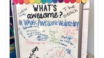 #WhatsAwesome Week - Local teacher uses What's Awesome in classroom
