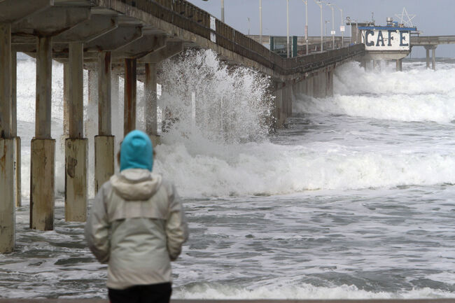 Storm hitting San Diego Getty Images