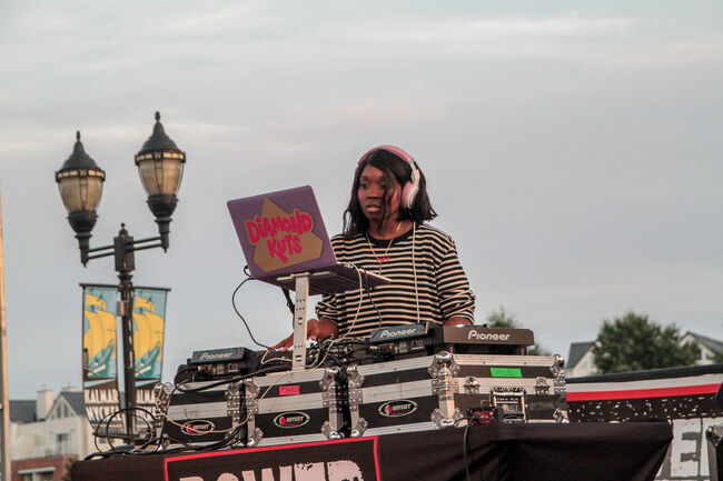 DJ Diamond Kuts + Friends at Power 99's August 2017 Peace on the Streets in Wilmington, DE