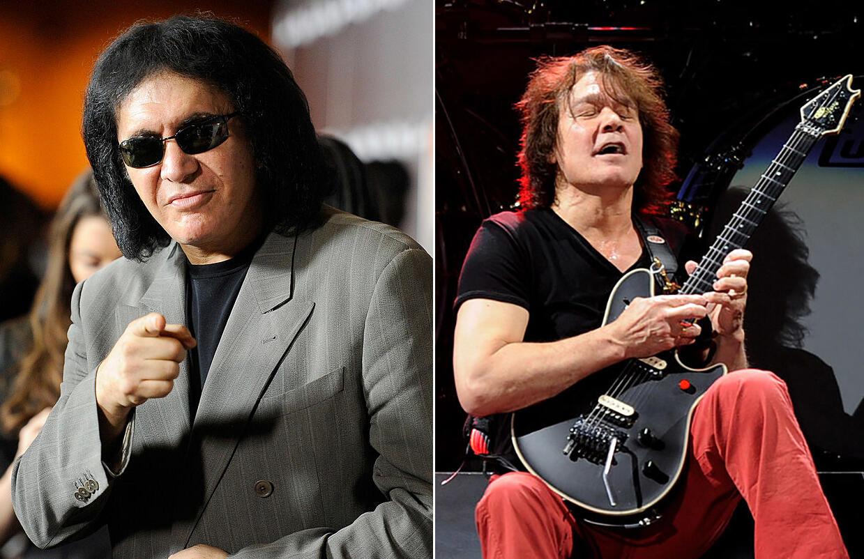Gene Simmons Will Release Kiss Demos Featuring Van Halen
