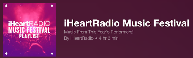 iHRMF Playlist
