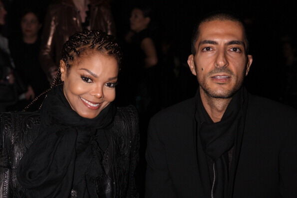 Janet Jackson and Wissam Al Mana - Getty Images