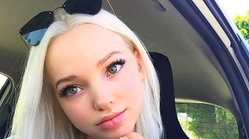KIIS Campus - Dove Cameron Teaches Fan How to Cope With Anxiety