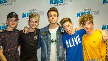 image for PHOTOS: Why Don't We in the 1075 KISS FM Lounge