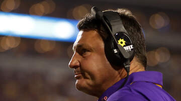Louisiana Sports - LSU, Orgeron Mindful Of Past Upsets As Rice Arrives