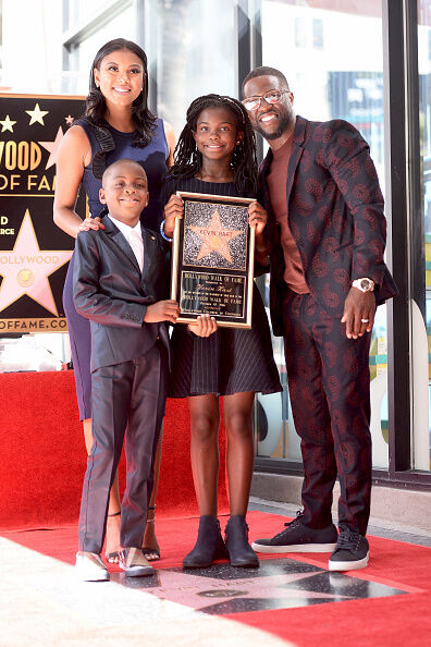 Kevin Hart and Family - Getty Images
