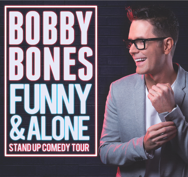 Bobby Bones Funny & Alone Stand Up Comedy Tour