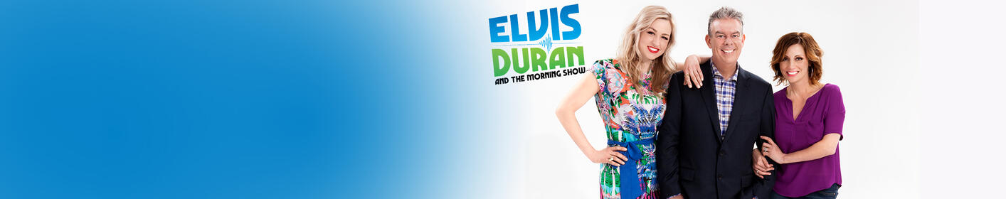 Tune in to Elvis Duran & the Morning Show every weekday morning on 96.1 KISS FM!