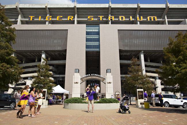 LSU Tiger Stadium Getty Images