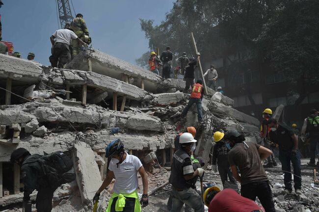 Mexico Earthquake September 2017 Getty Images