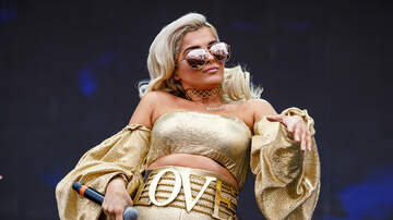 iHeartRadio Daytime Village - Bebe Rexha is a Literal Golden Goddess and We're Obsessed