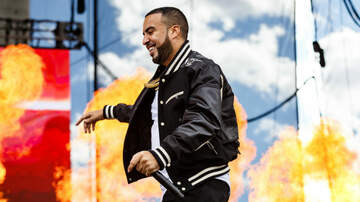 iHeartRadio Daytime Village - French Montana Brings Out Juicy J, Flames & More For iHeartVillage Set
