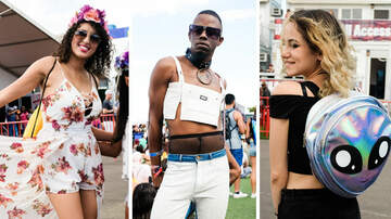 iHeartRadio Daytime Village - PHOTOS: Festival Fashion At The #iHeartVillage
