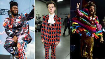 iHeartRadio Music Festival - Men Of iHeartFestival: Harry Styles' Suit, Jared Leto's Showy Poncho & More