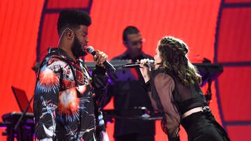 iHeartRadio Music Festival - Lorde Brought Out Khalid for 'Homemade Dynamite' & It Was Perfect