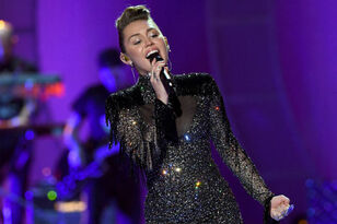 "Miley Cyrus Made A Political Statement Before ""Party In The U.S.A."""