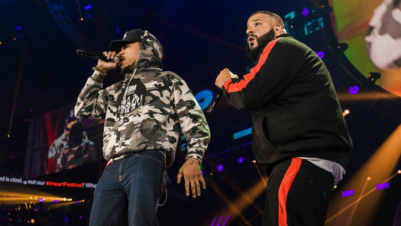 DJ Khaled Brings Out Surprise Guests Travis Scott, Chance