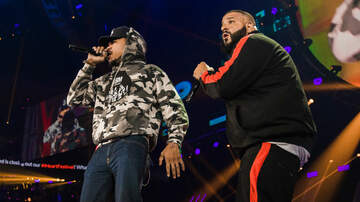 iHeartRadio Music Festival - DJ Khaled Brings Out Surprise Guests Travis Scott, Chance, Quavo and Demi