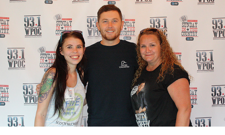 Scotty mccreery meet greet photos 931 wpoc scotty mccreery meet greet backstage at sunday in the country 2017 at merriweather post pavilion m4hsunfo