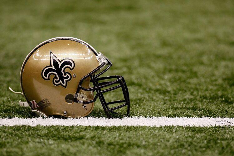 New Orleans Saints Helmet Getty Images