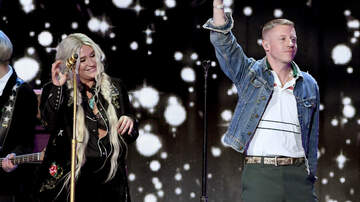 iHeartRadio Music Festival - Macklemore Reveals How He Convinced Kesha To Collab During iHeartFestival