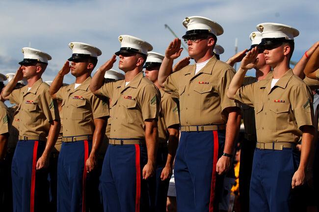 U.S. Marines Getty Images