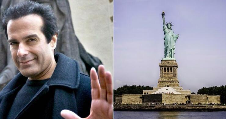 We Finally Know How David Copperfield Made The Statue Of