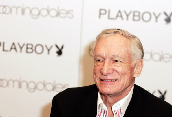 Hugh Hefner - Getty Images
