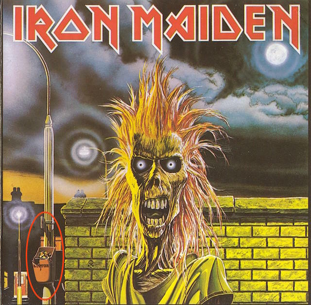 32 Hidden References On Iron Maidens Somewhere In Time Cover