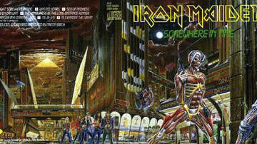 Premiere Classic Rock News - 32 Hidden References on Iron Maiden's Somewhere In Time Cover