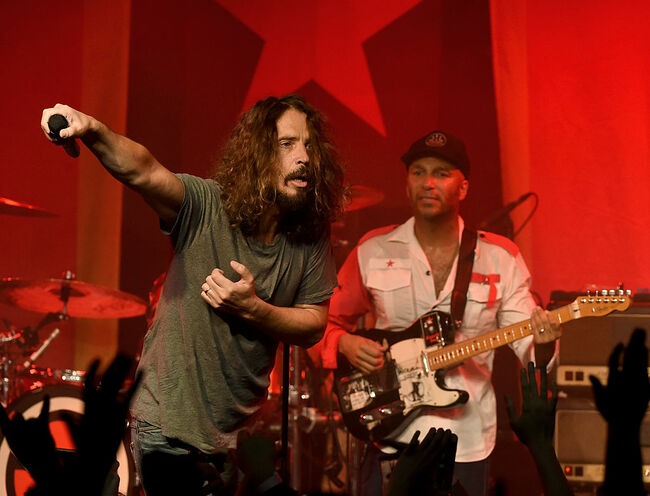 Audioslave (Photo by Kevin Winter/Getty Images)