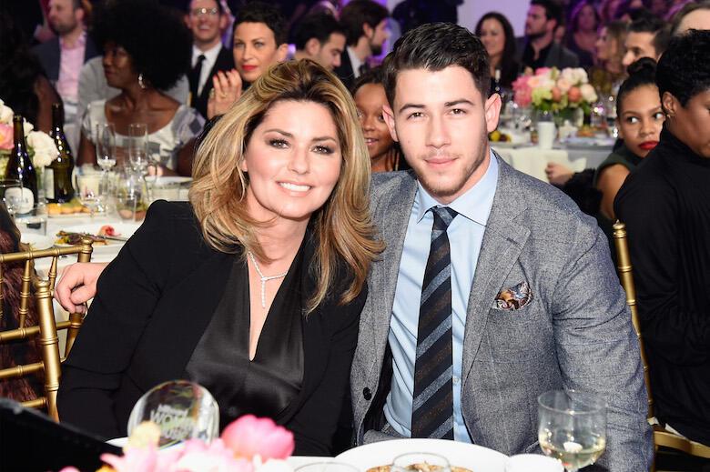 Shania Twain, Nick Jonas