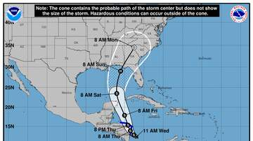 Operation Storm Watch - A New Tropical Depression Forms in the Caribbean