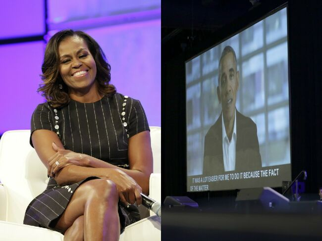 Michelle and Obama Getty Image
