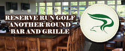 reserve run golf another round bar