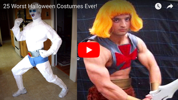 Louie G - The 25 Worst Halloween Costumes Ever! [Watch]