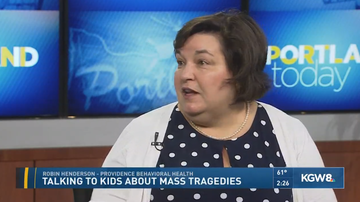 Rip City Radio Street Team - The Importance Of Talking To Kids About Mass Tragedies