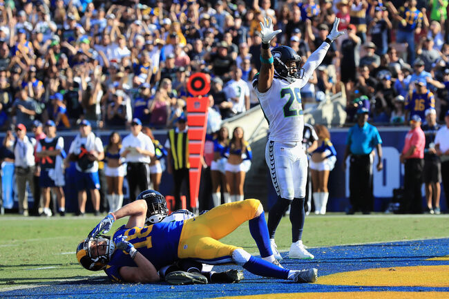 Seattle Seahawks vs Los Angeles Rams
