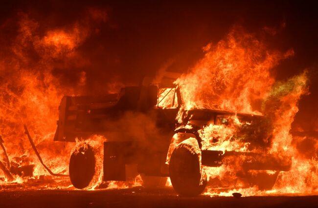Napa Fire in California
