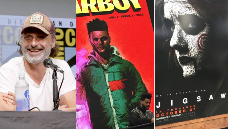 New York Comic-Con: 'Walking Dead' Season 8, The Weeknd's