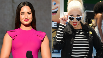 On The Move with Enrique Santos Blog (58577) - Demi Lovato On How Christina Aguilera's 'Stripped' Inspired Her New Album