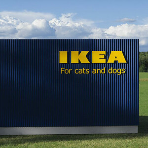 IKEA Just Launched A Pet Furniture Collection And We Need Everything!