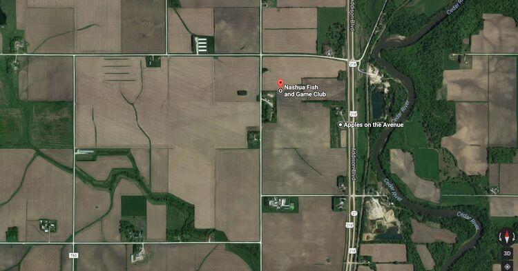 Nashua, Iowa Google maps