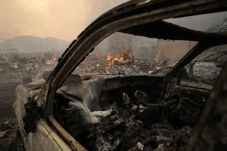 Napa California Fire