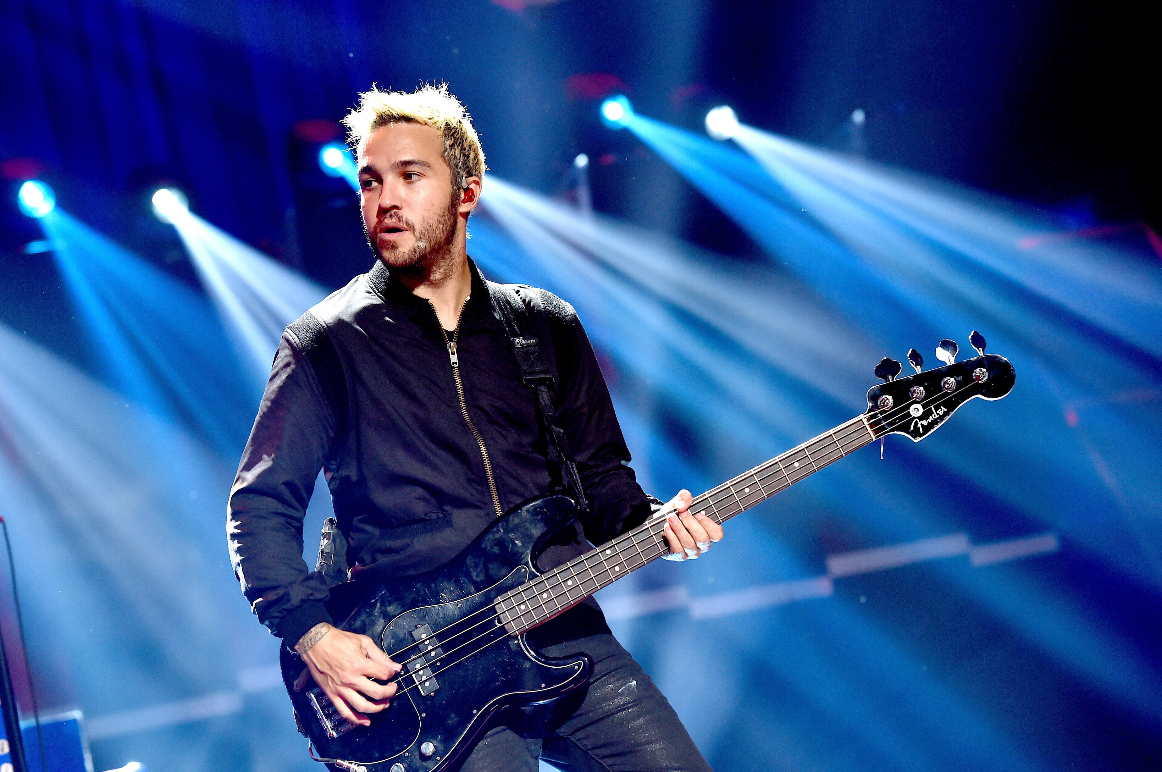 "Fall Out Boy's Pete Wentz once guest starred on ""One Tree Hill."" // Photo: Getty Images"