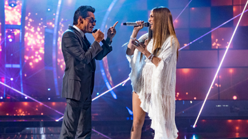 None - iHeartRadio To Air Marc Anthony-Jennifer Lopez-Hosted 'Somos Live!' Show