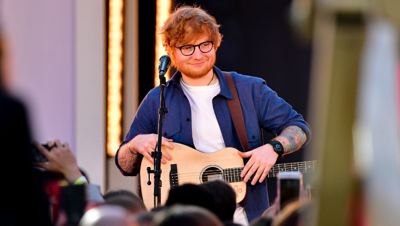 Ed sheeran fans can win a private serenade by the singer kj103 ed sheeran fans have a truly unique opportunity to meet the singer and raise money for a good cause in the process ed has teamed with omaze for a new m4hsunfo