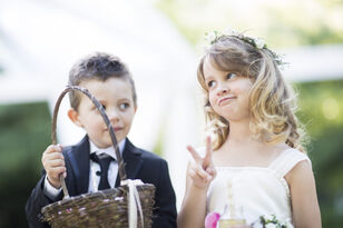 Parents Facing Backlash For Young Kids' Wedding Photo Shoot