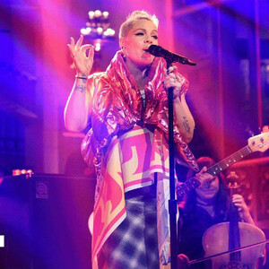 Watch P!NK Perform 'What About Us' & 'Beautiful Trauma' On 'SNL'